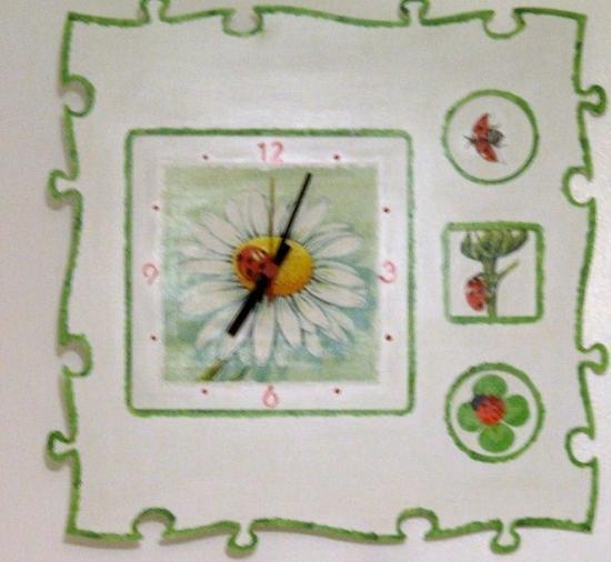 pendule puzzle