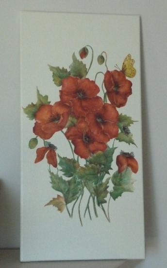 """bouquet de coquelicots""         stock : 0"