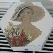 """femme fleurs"""