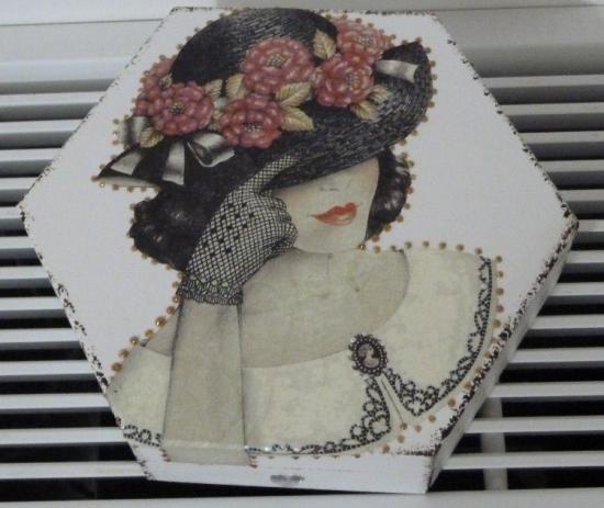 """""""femme chapeau"""""""